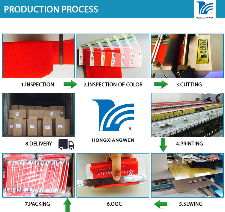Hongxiangwen Hook loop Prodution Process